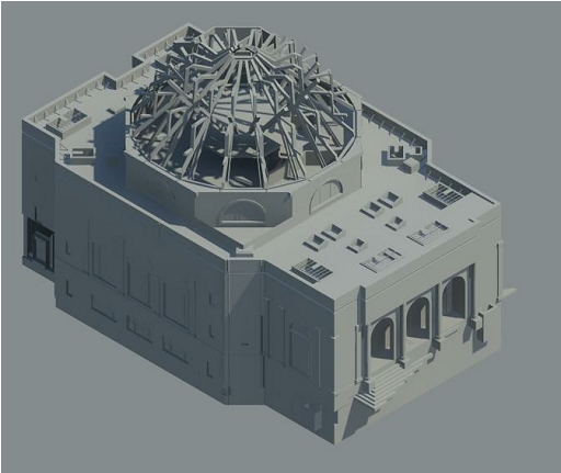 Architectural Model 2014-12-24 - Rendering - -3D-_1